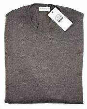 Men's COUNTRY CLUB Italy Taupe Wool Pullover Crewneck Sweater 50 M NWT $225!