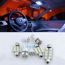White 11PCS LED 12V Lights Lamp Bulbs Interior Package Kit For 2014-2015 Mazda 6