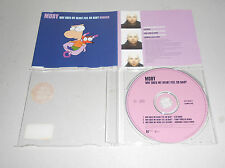 Maxi Single CD  Moby - Why Does My Heart Feel So Bad? (Remix)  1999  3.Tracks