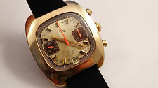 JYB valjoux 7734 chronograph vintage watch handwinder serviced