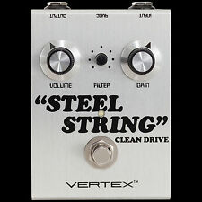 NEW VERTEX EFFECTS STEEL STRING CLEAN DRIVE GUITAR EFFECTS PEDAL
