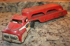 WYANDOTTE TRUCKING PRESSED STEEL CAR HAULER