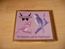 Maxi CD Wolfsheim - The sparrows and the nightingales - 1991