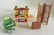 Fisher-Price Loving Family Dollhouse Study Living Room Furniture