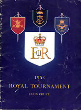 SOUVENIR PROGRAMME - THE 1953 ROYAL TOURNAMENT - JEEPS, DRUMS, CAVALRY & BOVRIL