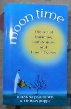 Moon Time Johanna Paungger Thomas Poppe Lunar Cycles Art of Harmony 2005 Book
