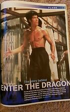bruce lee  inside total film magazine 2003 rare and mint.