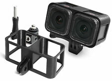 3D Frame Mount + Tripod Mount f. GoPro Hero 4 Session Zubehör Stativ Adapter