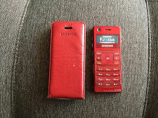 Samsung SGH F300 - Red Unlocked CellPhone *VINTAGE* *COLLECTIBLE* *RARE*
