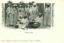 suriname, Native Market Women in Traditional Dresses (1899)