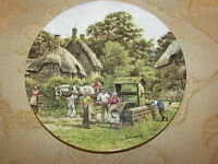 Collectable Royal Doulton ' The Village Well ' Decorative Plate No. 3382 A