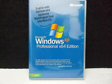 Betriebssystem, Microsoft, Win XP Professional x64 Edition, Multilingual UI,