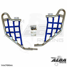TRX 700XX  Honda   Nerf Bars  Alba Racing   Silver bar Blue nets  233 T1 SL