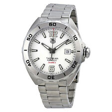 Tag Heuer Formula 1 Automatic White Dial Stainless Steel Mens Watch