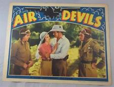 AIR DEVILS SCENE LOBBY CARD 1938 DICK PURCELL LARRY J BLAKE BERYL WALLACE