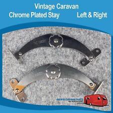 Caravan  Window Stay Chrome ( 1 Pair )  Vintage Viscount, Franklin, Millard,York