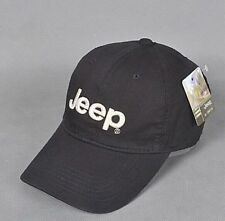 Jeep Unisex Hat Men Golf Cap Sport baseball Casual Outdoor  Adjustable  (black)