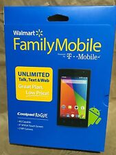 NEW! T-Mobile Walmart Family Mobile Coolpad Rogue GSM Prepaid Smartphone 4G 4""