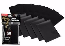 1000 NEW Black Matte Deck Guard Card Sleeve Protector - Tournament Quality - MTG