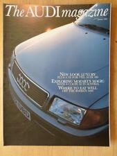 AUDI MAGAZINE brochure-été question de 1991 - 68 pages-Wanderer w25k 100 V6