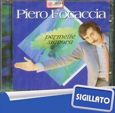 """PIERO FOCACCIA""""PERMETTE SIGNORA -SUCCESSI""""CD SIGILLATO FUEGO PRIMA EDIZIONE 1998"""