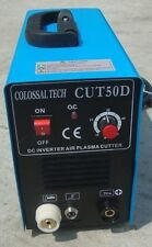 Plasma Cutter 50AMP New CUT50D Inverter Dual Voltage Includes 44 Consumables *