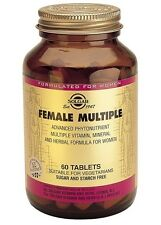 Solgar Female Multiple 60 Tablets Multivitamins Minerals for Women