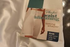 Playtex Waist Slimming GIRDLE FIRM HI WAIST  White SIZE X LARGE Style 3038