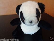 RARE VINTAGE GENIE TOYS PLUSH DOLL FIGURE PANDA BEAR STUFFED ANIMAL TOY