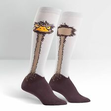 Sock It To Me Women's Funky Knee High Socks - Ostrich