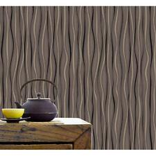 BELGRAVIA VELVET RIBBONS PATTERN WAVE STRIPE GLITTER TEXTURED WALLPAPER 57005