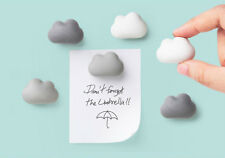 QUALY GENUINE CUTE CLOUD MAGNET PAPER HOLDER OFFICE DESK HOME LIVING FREE SHIP