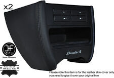 BLACK STCH CONSOLE SIDE TRIM LEATHER COVER FITS PORSCHE 986 BOXSTER CARRERA 996