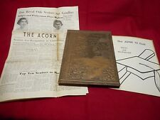 1951 ROYAL OAK (MICHIGAN) HIGH SCHOOL YEARBOOK ~ THE OAK ~ JUNE CLASS + Acorn +