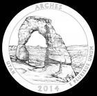 2014 Arches National Park in Utah QUARTERS MULTIPLE P/D/S MINTS LIST PRESALE