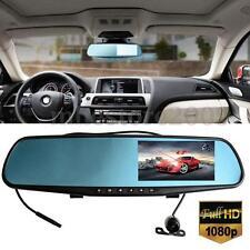 HD 1080P 4.3 '' LCD Voiture Rétroviseur DVR Dual Caméra Car DashCam Enregistreur