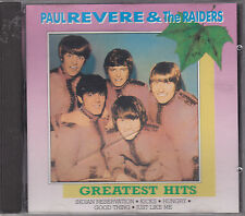 PAUL REVERE & THE RAIDERS - greatest hits CD