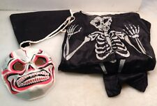 1979 COLLEGEVILLE SPOOKY SPOOKS SKELETON MONSTER HALLOWEEN COSTUME AND MASK