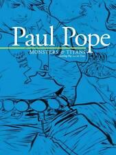 PAUL POPE MONSTERS & TITANS TPB Original Art Battling Boy Touring Exhibition TP