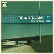 Taking Back Sunday Tell All Your Friends vinyl LP NEW sealed