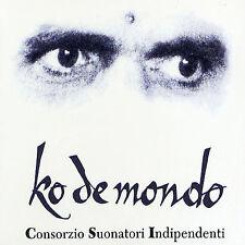 Ko de Mondo by C.S.I. (Consorzio Suonatori Indipendenti) (CD, 1999) Mint #DK54