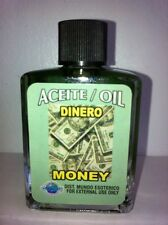 MYSTICAL / SPIRITUAL OIL (ACEITE) FOR SPELLS & ANOINTING 1/2 OZ MONEY (DINERO)