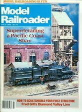 1983 Railroad Model Craftsman Magazine: Superdetailing a Pacific Coast Shay