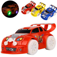 Automatic Car Scale Flashing Led Light Music Sound Electric Toy Cars Kids