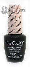 OPI GelColor Gel Color Polish Put it in Neutral- 0.5 fl. oz - GCT65