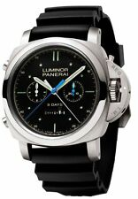 Panerai Pam00530 Luminor 1950 Rattrapante 8 Days Titanium Limited Edition Watch