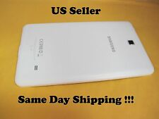"Geniue White Rear Back Cover Samsung Galaxy Tab 4 SM-T230NU 7"" And Speaker #TV"