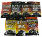 Wild West Beef Jerky All Flavours All Sizes Original Peppered 25g 50g 85g 100g