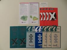 Lot of US Airline Brochures (AirTran and Hawaiian Airlines) =