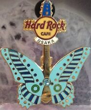 Hard Rock Cafe OSAKA 2006 BUTTERFLY Guitar Series PIN #3/12 HRC Catalog #31756